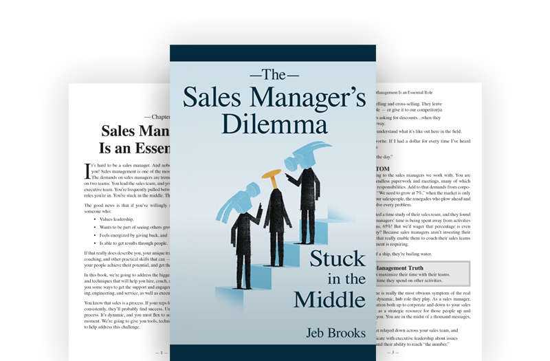 The Sales Manager's Dilemma: Stuck in the Middle